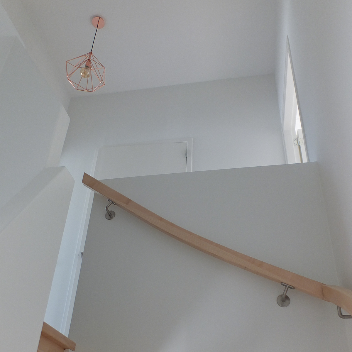 Renovlies behang in combinatie met schilderwerk
